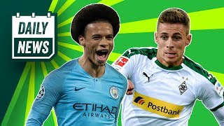 Sane interests Bayern, Dortmund WINNING at transfers + Trippier to Atletico? ►Onefootball Daily News