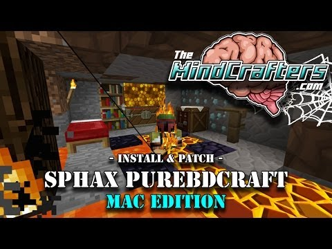 Tutorial - Install (and Patch) Sphax PureBDcraft for Mac