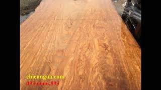 VIDEO sập gỗ gụ lào 2 tấm | sập gỗ hương 2 tấm | sập gỗ cẩm lai 1 tấm | tại xưởng Văn Ba !