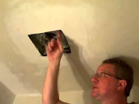 Replace a Bathroom Fan - Broan Fan