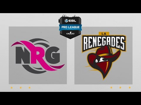 CS:GO - NRG vs. Renegades [Cbble] Map 1 - ESL Pro League Season 4 - NA Matchday 27