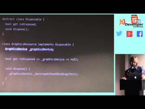 HTML5DevConf May 2014: Don Olmstead, Sony Network Entertainment: Dart for Game Developers