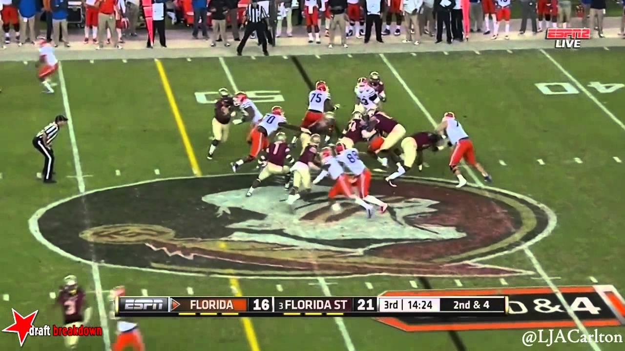 D.J. Humphries vs Florida State (2014)