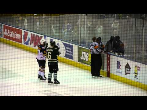 2013 OHL Final Game 7 - Knights Vs Colts May 13, 2013 - Bo Horvat winning goal!