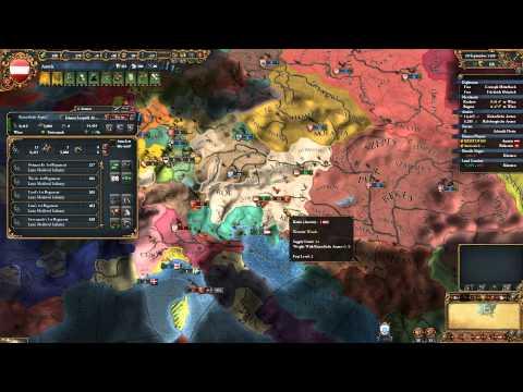 Europa Universalis IV Multi Game - Austria (HAB) - Ep. 5. [HUN]