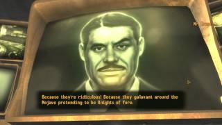 Mr House hates the Brotherhood of Steel