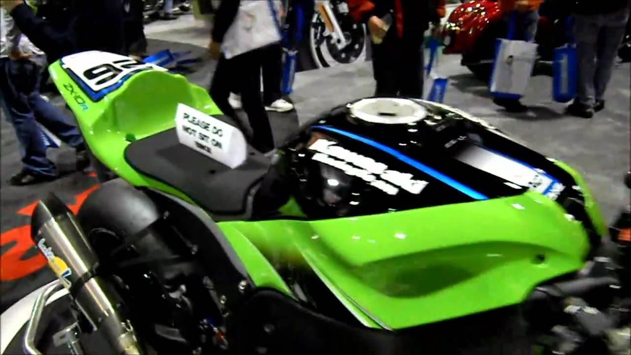 Kawasaki Ninja Zx10r Moto Gp Style Walk Around Motorbike
