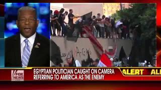 Egypt : Hot Mic catches Muslim Brotherhood Politician urging war with America/Israel (Jun 13, 2013)