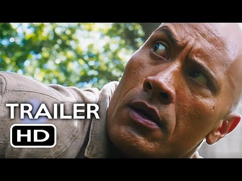 Jumanji 2: Welcome to the Jungle Official Trailer #1 (2017) Dwayne Johnson, Kevin Hart Movie HD streaming vf