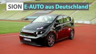 Sion von Sono Motors - deutsches Elektroauto für 16.000€ 🚗 | Probefahrt