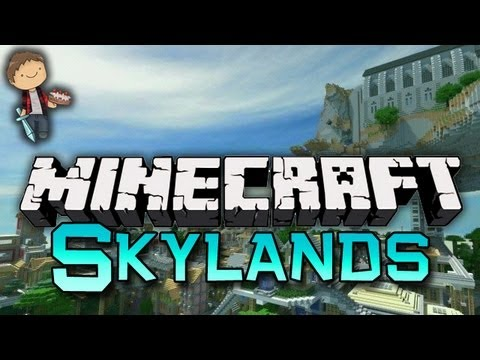 Minecraft: SKYLAND PARKOUR AND SUMOTORI w/Mitch & Jerome!