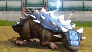 Jurassic Park Builder: Ankylosaurus [BATTLE] [EVOLUTION 3]