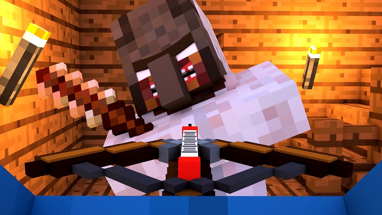 Granny vs Villager Life 4 - Granny Horror Game Minecraft Animation Alien Being