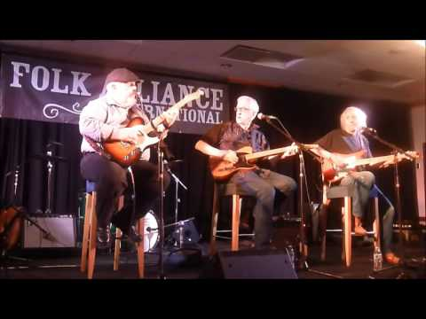 Bill Kirchen, Redd Volkaert and Albert Lee at 2016 Folk Alliance