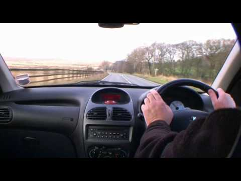 Virtual Test Drive In Peugeot 206 Diesel