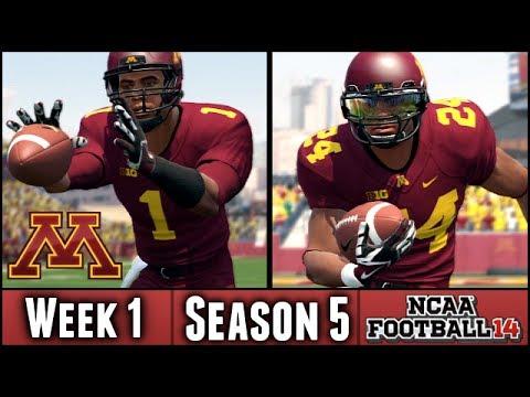 NCAA Football 14 Dynasty: Week 1 vs Colorado St. - Debut of Andy McKenzie (Season 5)