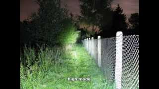 LED Flashlights Test (part 3/3): Night shots (HD)