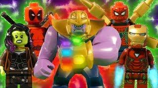 LEGO AVENGERS SUPER COMPILATION - INFINITY WAR