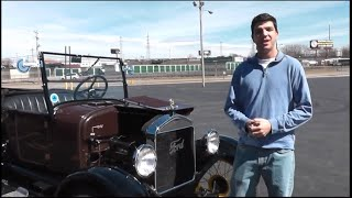 How to start and drive a Ford Model T