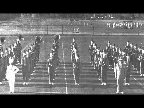 El Cajon Valley High School Marching Band-French National Defile-1963