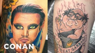 "[Fantastic ""Always Sunny In Philadelphia"" Tattoos  - CONAN on TBS] Video"