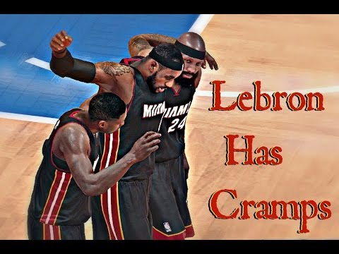 NBA 2k14 XB1 My Career   Lebron Leaves Game With Cramps   When It All Falls Down
