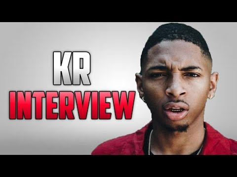 KR Interview - Talks Ghostwriting, Almost Getting Signed By Kendrick Lamar + More