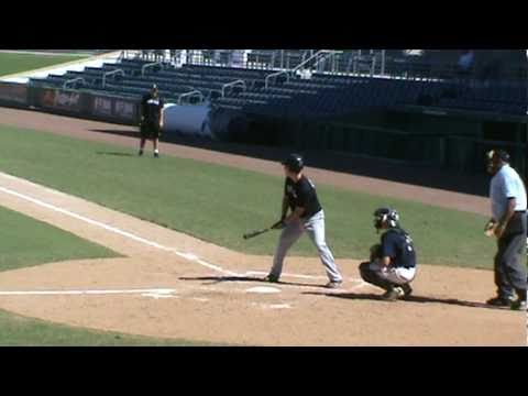 Joel Trewartha Offensive Highlight - Opposite Field Power (Wood Bat)