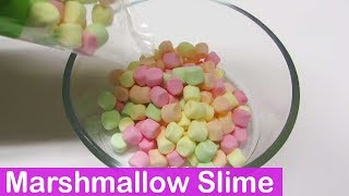 DIY Marshmallow Edible Slime Tutorial