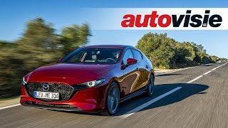 Mazda 3 (2019) - TEST - Autovisie TV