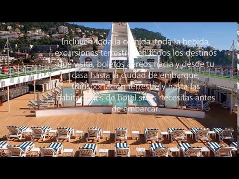 Top 10 - Los Cruceros más Lujosos del Mundo