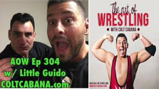 Little Guido - Art of Wrestling Ep 304 w/ Colt Cabana