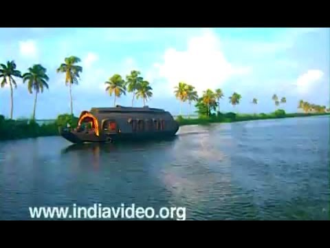 Venice of the East - Alappuzha, backwaters, Kerala, India