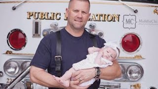 Firefighter Adopts Baby He Delivered On Rescue Call: