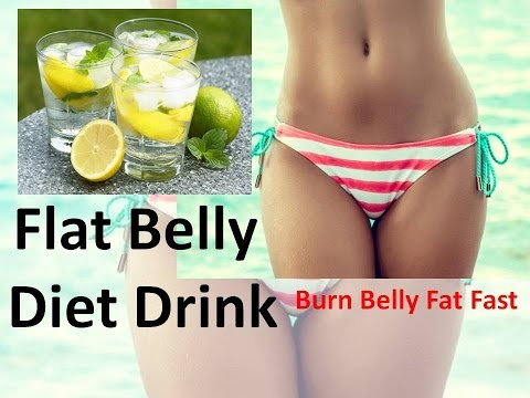 Flat Belly Diet Drink - How to Loose Belly Fat with Detox Water Without Exercise