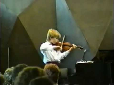 Johnny Gandelsman plays Ysaye Ballade 1992