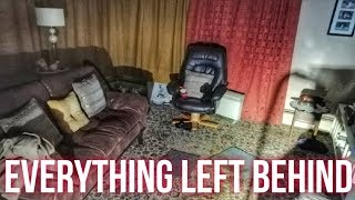 Abandoned Time Capsule House (So Much Stuff Left)