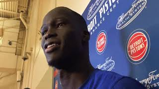 Pistons' Thon Maker on challenges Giannis Antetokounmpo presents