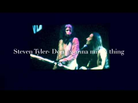 Steven Tyler- I Don't Want To Miss A Thing. Acoustic Performance With Nuno Bettencourt video
