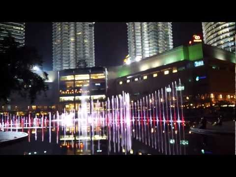 Klcc Symphonic Fountain: 1malaysia Theme Song video