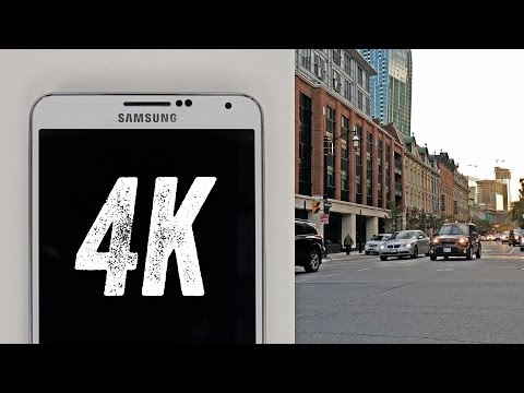 4K VIDEO TEST! (Samsung Galaxy Note 3 -- 4K Recording)