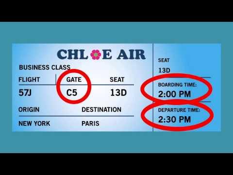 Chloe the Jumbo Jet - Travel & Passenger Safety Video