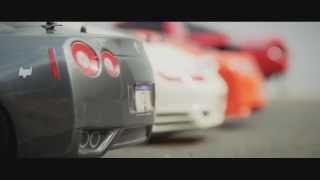 гонка масштабных моделях, радиоуправляемых машин сделана в стиле Голливуд