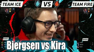 Bjergsen Lucian vs Kira Lucian | 1v1 Round 2 All-Stars Los Angeles 2015 | NA vs CIS