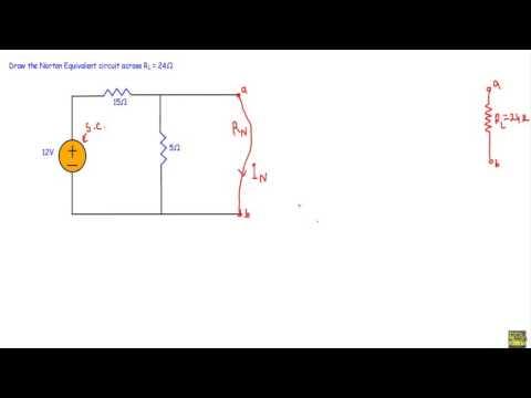 Norton Circuit : Example 1