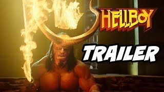 Hellboy Official Trailer - King Hellboy Easter Eggs and Reboot Explained