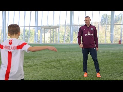 Wayne Rooney 100 England Caps and Top 5 Goals Interview - STRskillSchool