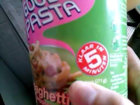 Unox Good Pasta Carbonara, yummy ready in 5 minutes part 1.