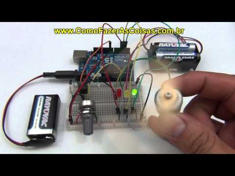 Prcticas 3 y 4 con arduino: control de un motor y un