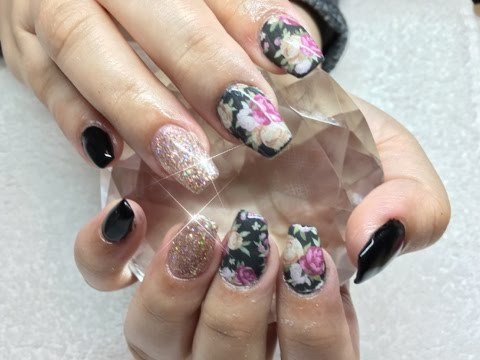 How to: Applying water decals on nails